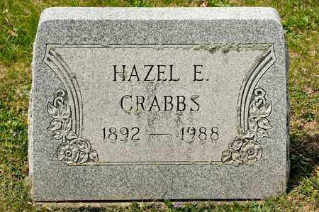 CRABBS, HAZEL E - Richland County, Ohio | HAZEL E CRABBS - Ohio Gravestone Photos
