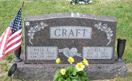 CRAFT, DALE E - Richland County, Ohio | DALE E CRAFT - Ohio Gravestone Photos