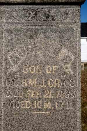 CRAIG, AUBREY B - Richland County, Ohio | AUBREY B CRAIG - Ohio Gravestone Photos
