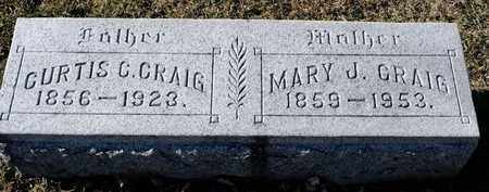 CRAIG, MARY J - Richland County, Ohio | MARY J CRAIG - Ohio Gravestone Photos