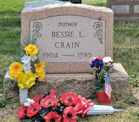CRAIN, BESSIE L - Richland County, Ohio | BESSIE L CRAIN - Ohio Gravestone Photos