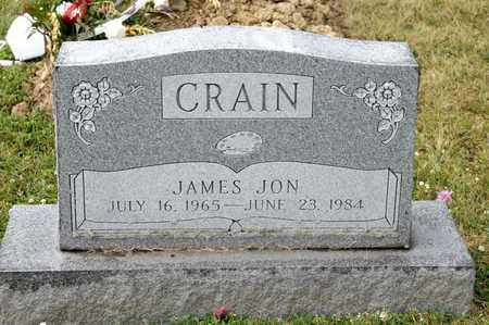 CRAIN, JAMES JON - Richland County, Ohio | JAMES JON CRAIN - Ohio Gravestone Photos