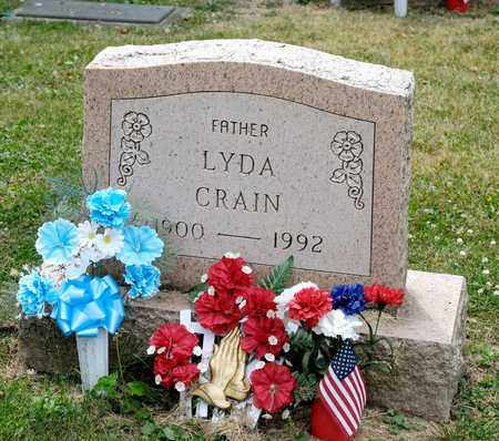 CRAIN, LYDA - Richland County, Ohio | LYDA CRAIN - Ohio Gravestone Photos