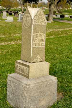 CRALL, ELIZABETH - Richland County, Ohio | ELIZABETH CRALL - Ohio Gravestone Photos