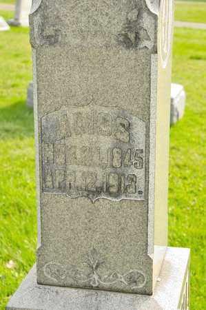 CRALL, AMOS - Richland County, Ohio | AMOS CRALL - Ohio Gravestone Photos