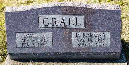 CRALL, M RAMONA - Richland County, Ohio | M RAMONA CRALL - Ohio Gravestone Photos