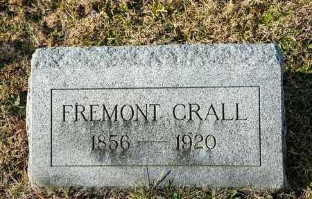 CRALL, FREMONT - Richland County, Ohio | FREMONT CRALL - Ohio Gravestone Photos