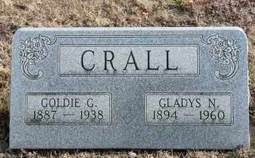 CRALL, GLADYS N - Richland County, Ohio | GLADYS N CRALL - Ohio Gravestone Photos