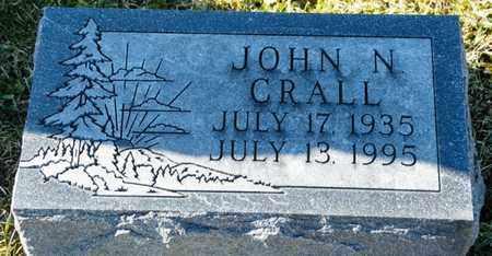 CRALL, JOHN N - Richland County, Ohio   JOHN N CRALL - Ohio Gravestone Photos