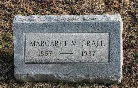 CRALL, MARGARET M - Richland County, Ohio | MARGARET M CRALL - Ohio Gravestone Photos