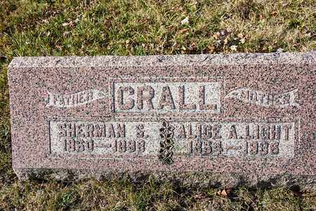 CRALL, SHERMAN S - Richland County, Ohio | SHERMAN S CRALL - Ohio Gravestone Photos