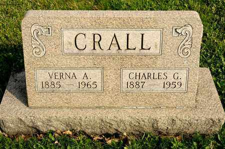 CRALL, VERNA A - Richland County, Ohio | VERNA A CRALL - Ohio Gravestone Photos