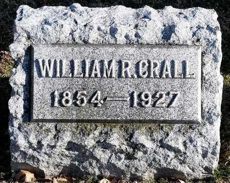 CRALL, WILLIAM R - Richland County, Ohio | WILLIAM R CRALL - Ohio Gravestone Photos
