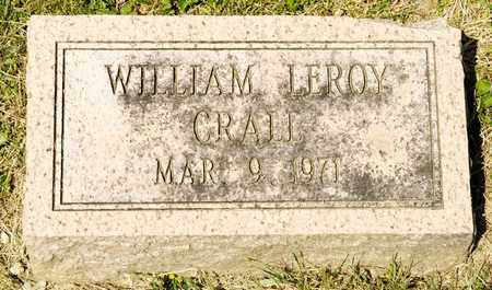 CRALL, WILLIAM LEROY - Richland County, Ohio | WILLIAM LEROY CRALL - Ohio Gravestone Photos