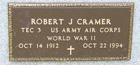 CRAMER, ROBERT J - Richland County, Ohio | ROBERT J CRAMER - Ohio Gravestone Photos