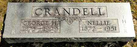 CRANDELL, GEORGE H - Richland County, Ohio | GEORGE H CRANDELL - Ohio Gravestone Photos