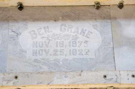 CRANE, BEN - Richland County, Ohio | BEN CRANE - Ohio Gravestone Photos