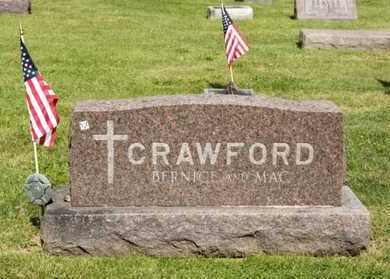 BOYCE CRAWFORD, BERNICE J - Richland County, Ohio | BERNICE J BOYCE CRAWFORD - Ohio Gravestone Photos
