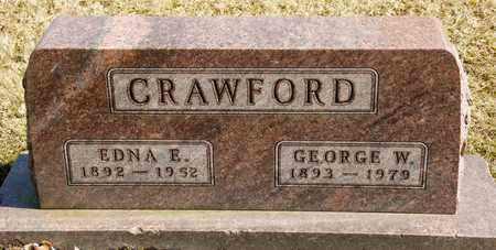CRAWFORD, EDNA E - Richland County, Ohio | EDNA E CRAWFORD - Ohio Gravestone Photos