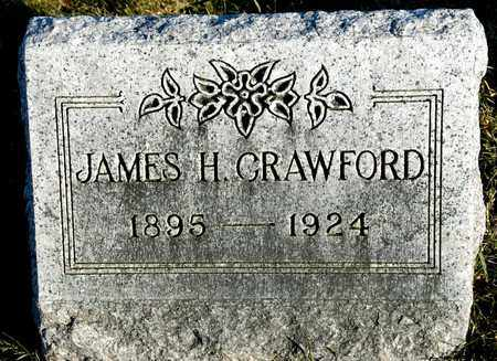 CRAWFORD, JAMES H - Richland County, Ohio | JAMES H CRAWFORD - Ohio Gravestone Photos
