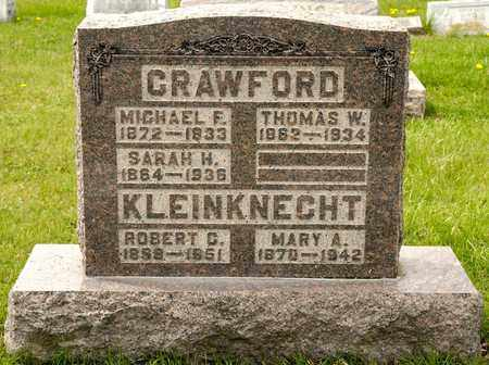 CRAWFORD, MICHAEL F - Richland County, Ohio | MICHAEL F CRAWFORD - Ohio Gravestone Photos