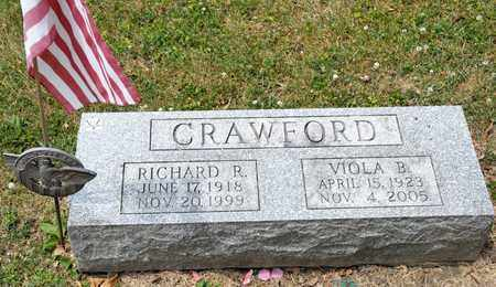 CRAWFORD, RICHARD R - Richland County, Ohio | RICHARD R CRAWFORD - Ohio Gravestone Photos