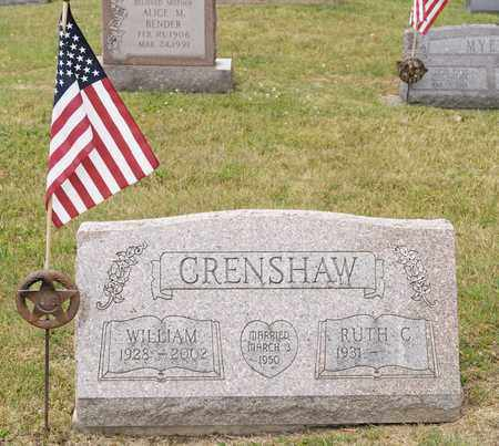 CRENSHAW, WILLIAM - Richland County, Ohio | WILLIAM CRENSHAW - Ohio Gravestone Photos