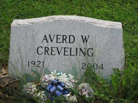 CREVELING, AVERD W. - Richland County, Ohio | AVERD W. CREVELING - Ohio Gravestone Photos