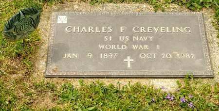 CREVELING, CHARLES F - Richland County, Ohio | CHARLES F CREVELING - Ohio Gravestone Photos