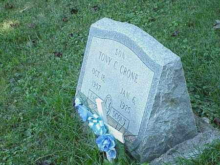 CRONE, TONY C. - Richland County, Ohio | TONY C. CRONE - Ohio Gravestone Photos