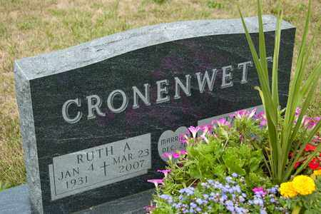 CRONENWETT, RUTH A - Richland County, Ohio | RUTH A CRONENWETT - Ohio Gravestone Photos