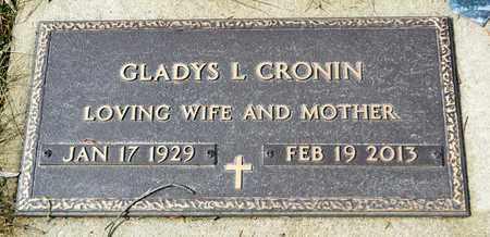CRONIN, GLADYS L - Richland County, Ohio | GLADYS L CRONIN - Ohio Gravestone Photos