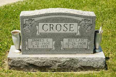 CROSE, BEULAH - Richland County, Ohio | BEULAH CROSE - Ohio Gravestone Photos