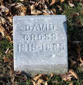 CROSS, DAVID - Richland County, Ohio | DAVID CROSS - Ohio Gravestone Photos