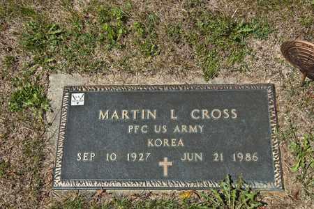 CROSS, MARTIN L - Richland County, Ohio | MARTIN L CROSS - Ohio Gravestone Photos