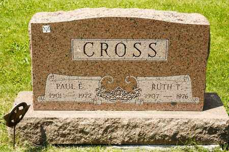 CROSS, RUTH T - Richland County, Ohio | RUTH T CROSS - Ohio Gravestone Photos