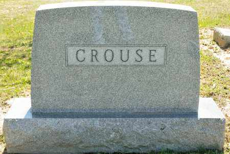 CROUSE, MARY E - Richland County, Ohio | MARY E CROUSE - Ohio Gravestone Photos