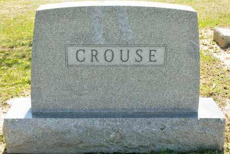 CROUSE, MARY E - Richland County, Ohio   MARY E CROUSE - Ohio Gravestone Photos
