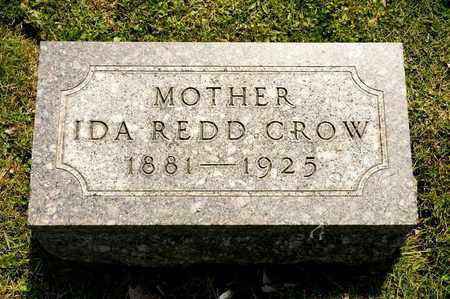 CROW, IDA REDD - Richland County, Ohio | IDA REDD CROW - Ohio Gravestone Photos