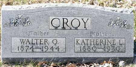 CROY, KATHERINE L - Richland County, Ohio | KATHERINE L CROY - Ohio Gravestone Photos