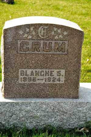 CRUM, BLANCHE S - Richland County, Ohio | BLANCHE S CRUM - Ohio Gravestone Photos
