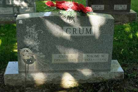 CRUM, NAOMI M - Richland County, Ohio | NAOMI M CRUM - Ohio Gravestone Photos
