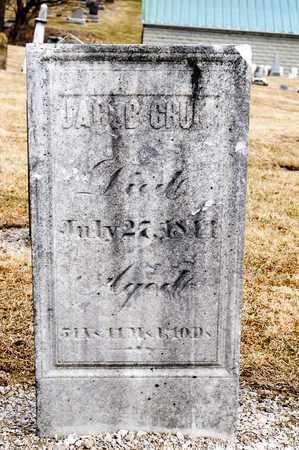 CRUM, JACOB - Richland County, Ohio | JACOB CRUM - Ohio Gravestone Photos