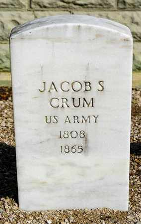 CRUM, JACOB S - Richland County, Ohio | JACOB S CRUM - Ohio Gravestone Photos