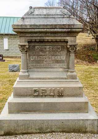 CRUM, JOHN - Richland County, Ohio | JOHN CRUM - Ohio Gravestone Photos
