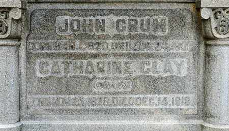CLAY CRUM, CATHARINE - Richland County, Ohio | CATHARINE CLAY CRUM - Ohio Gravestone Photos