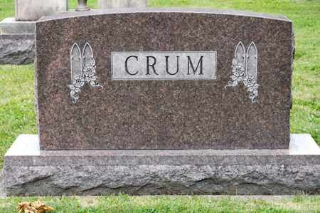CRUM, CLIFFORD R - Richland County, Ohio | CLIFFORD R CRUM - Ohio Gravestone Photos