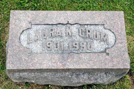 CRUM, LAURA N - Richland County, Ohio | LAURA N CRUM - Ohio Gravestone Photos