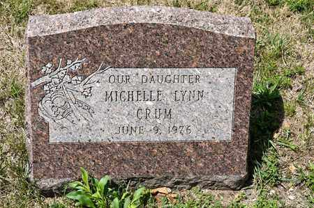 CRUM, MICHELLE LYNN - Richland County, Ohio | MICHELLE LYNN CRUM - Ohio Gravestone Photos