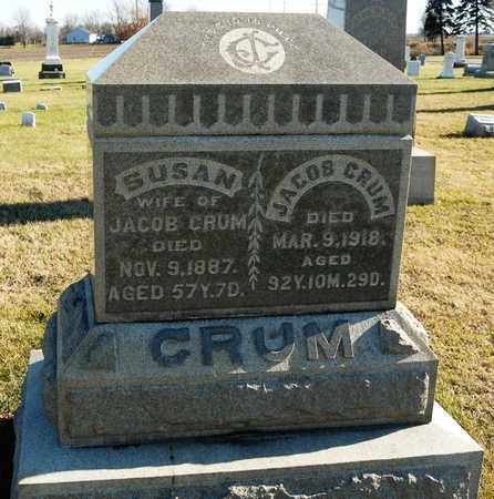 CRUM, JACOB - Richland County, Ohio | JACOB CRUM - Ohio Gravestone Photos